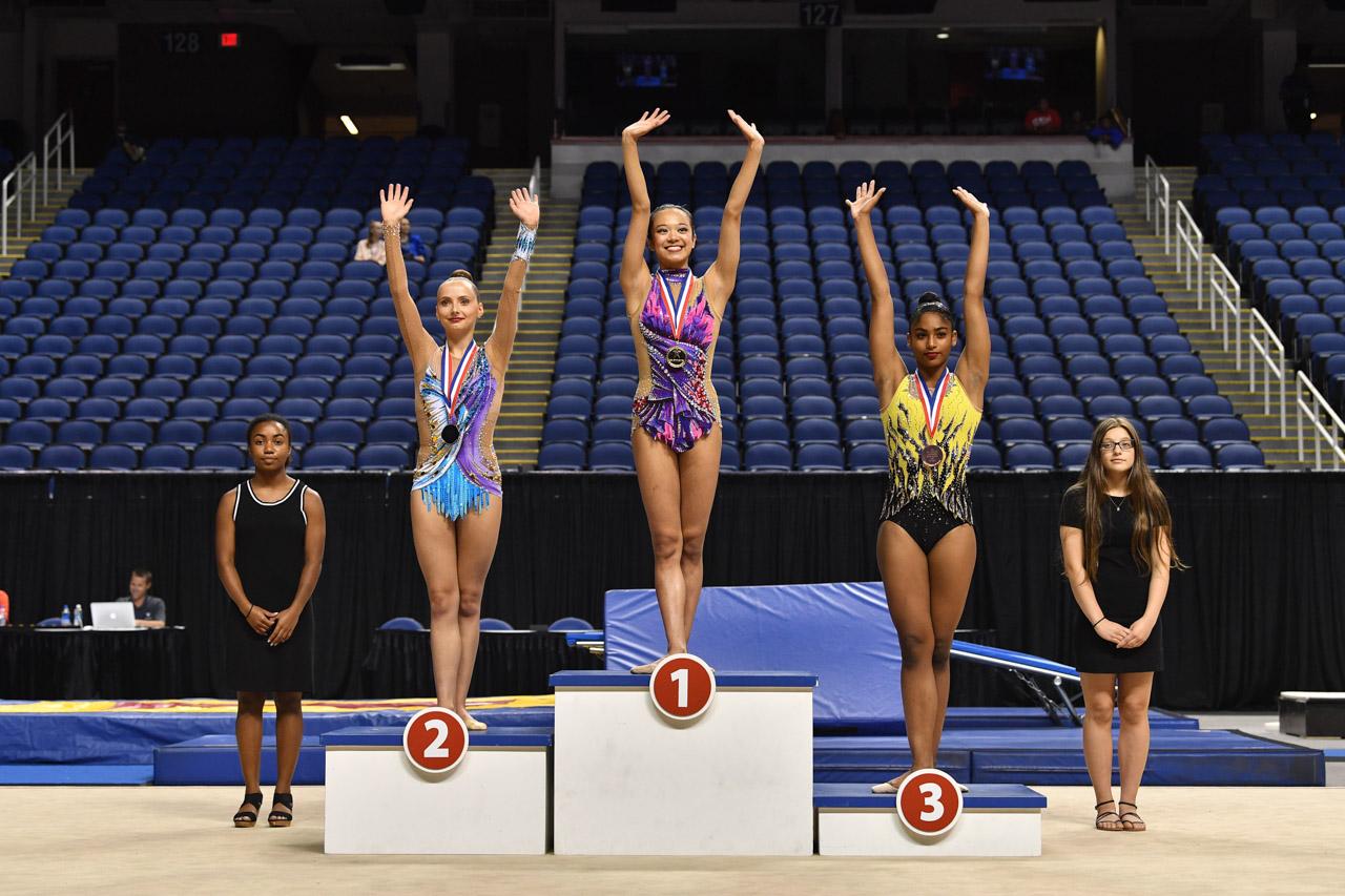 News 2 Greensboro >> Zeng wins clubs, ribbon U.S. titles at 2018 USA Gymnastics Championships - USA Gymnastics ...