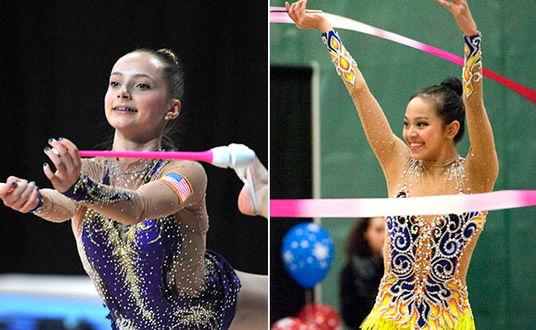Feeley Zeng Win U S Rhythmic Event Titles At 2016 Usa